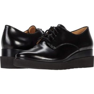 ナチュラライザー Naturalizer レディース ローファー・オックスフォード シューズ・靴 Sonoma Black Brush-Off Leather