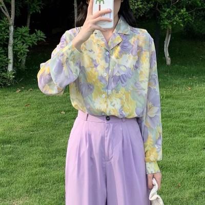 レディース 長袖 シャツ ビッグシルエット ダンス 衣装 ヒップホップ コスチューム 韓国 ファッション 個性的 服 原宿系