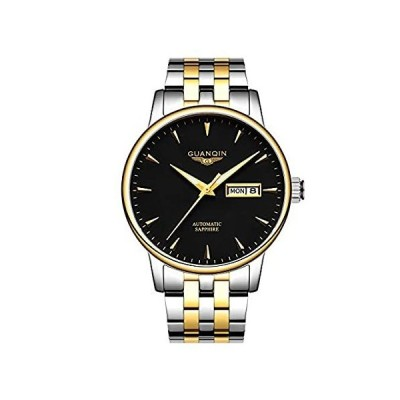 Mens Watches Automatic Self Winding Wrist Watch Mechanical Movement Stainle好評販売中