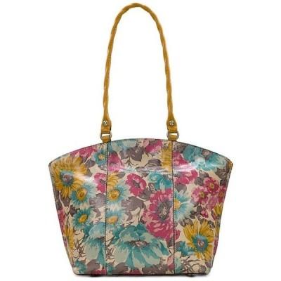 パトリシアナシュ レディース ショルダーバッグ バッグ First Bloom Collection Michel Leather Top Zip Shoulder Bag