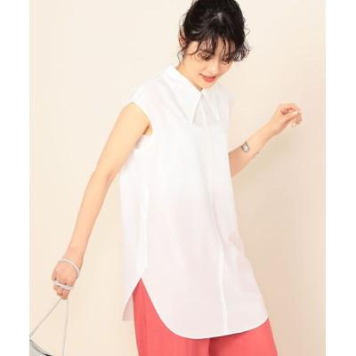NOLLEY'S / ◇【WEB限定カラーあり】シアーノースリーブシャツ WOMEN トップス > シャツ/ブラウス