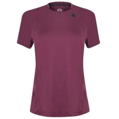 アンダーアーマー Tシャツ レディース トップス Rush Short Sleeve T Shirt Ladies