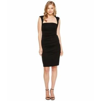 ニコルミラー レディース ドレス Sleeveless Jersey Tuck Dress