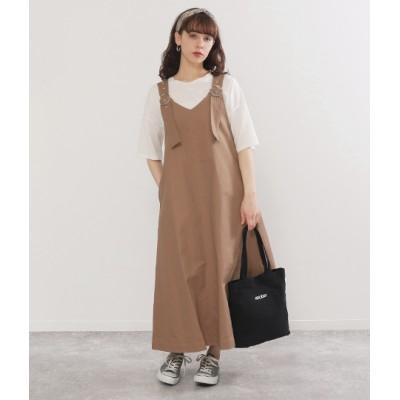 Factor= Vデザインジャンパースカート