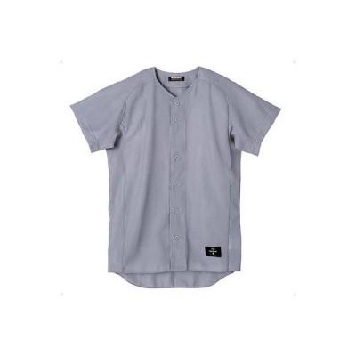 デサント(DESCENTE) ボタンダウンシャツ(スーパーライトリブメッシュ) STD-50TA KSLV Kシルバー O