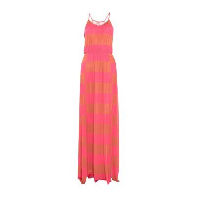 F**K PROJECT ロングワンピース&ドレス 赤茶色 S ポリエステル 95% / ポリウレタン 5% ロングワンピース&ドレス