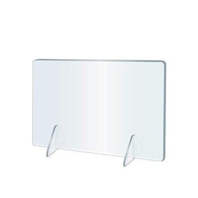 日本製 透明 アクリルパーテーション W700×H600mm 飛沫感染防止 デスクパーテーション 仕切り板 アクリル板 パー