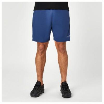 エバーラスト Everlast メンズ フィットネス・トレーニング ショートパンツ ボトムス・パンツ Poly Shorts Navy