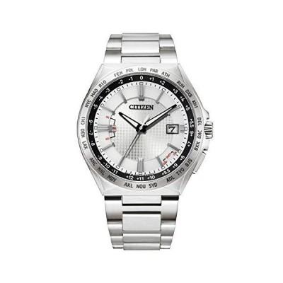 シチズン 腕時計 アテッサ エコ・ドライブ電波時計 ダイレクトフライト ACT Line CB0210-54A メンズ シルバー