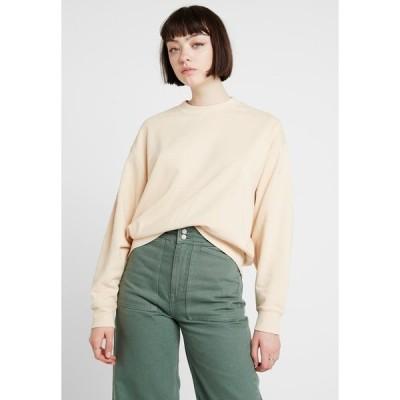 ウィークデイ パーカー・スウェットシャツ レディース アウター HUGE CROPPED - Sweatshirt - beige