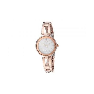 Citizen Watches シチズン レディース 女性用 腕時計 ウォッチ ファッション時計 EM0633-53A Eco-Drive - Rose Gold Tone
