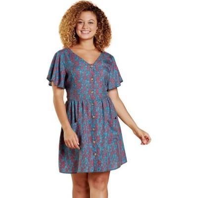 ドード アンドコー レディース ワンピース トップス Hillrose Button-Up Short-Sleeve Shirt Dress