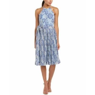 Alexia  ファッション ドレス Alexia Admor A-Line Dress L Blue