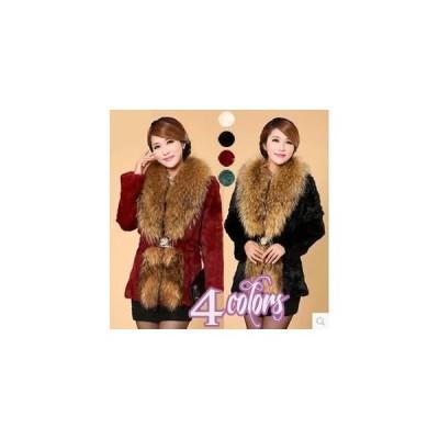 レディース毛皮コート レディースファー付きコート 女性 人気ファー ロングコート 2020 レディース セール バーゲン 最安値 エレガント