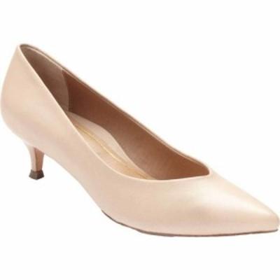 バイオニック Vionic レディース パンプス ローヒール シューズ・靴 Josie Kitten Heel Pump Sand Leather
