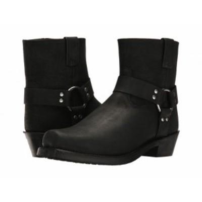 Old West Boots オールドウエストブーツ メンズ 男性用 シューズ 靴 ブーツ ライダーブーツ Short Harness Boot Black【送料無料】