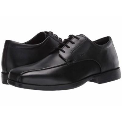 ジェオックス メンズ ドレスシューズ シューズ Calgary Smooth Black Leather