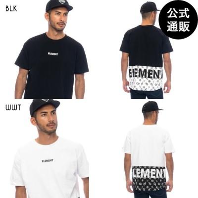 SALE 2021 エレメント メンズ  COOL MAX  BLOCK SS Tシャツ  2021年夏モデル  全3色 S/M/L/XL ELEMENT