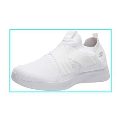 Skechers BOBS Women's Bobs Squad 2-Kid Cool Sneaker, White, 9 M US