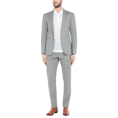 タリアトーレ TAGLIATORE スーツ グレー 52 スーパー100 ウール 100% スーツ