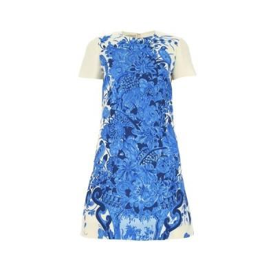 ヴァレンティノ レディース ワンピース トップス Valentino Bluegrace Bouquet Print Dress -