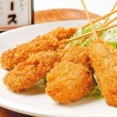 めっちゃ大阪 串カツ(牛串5本)(串揚げ)