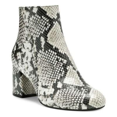 アイエヌシーインターナショナルコンセプト ブーツ&レインブーツ シューズ レディース I.N.C. Women's Farren Booties, Created for Macy's Natural Snake