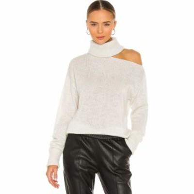 ペイジ PAIGE レディース ニット・セーター トップス Raundi Sweater Ivory/Silver