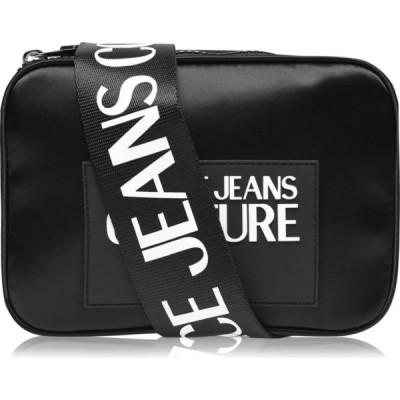 ヴェルサーチ VERSACE JEANS COUTURE レディース ショルダーバッグ カメラバッグ バッグ Nylon Camera Bag Black