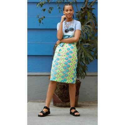 エッセンシャル Essentiel Antwerp レディース ひざ丈スカート ペンシルスカート スカート vades midi pencil skirt Fluo Yellow