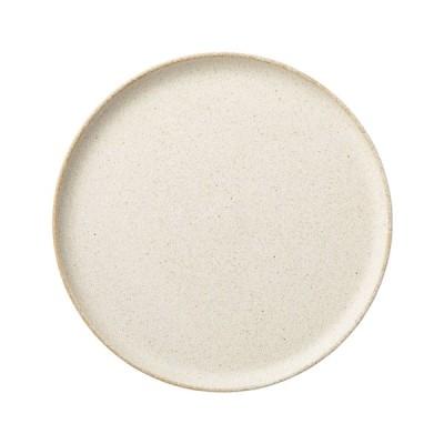 中皿 8.5丸皿 浅口切立プレート 絹衣 クラリス おしゃれ 業務用 美濃焼