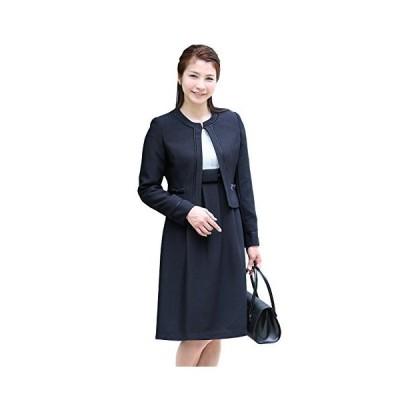 (ニナーズ)nina's お受験スーツ ママ 母 レディース 母親 紺 濃紺 アンサンブル ジャケット ワンピース お受験