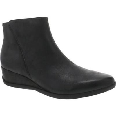 ダンスコ Dansko レディース ブーツ シューズ・靴 Serenity Waterproof Bootie Black Leather