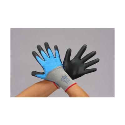 ESCO [LL] 手袋(耐切創/ステンレス系・ポリエステル・ニトリルコート EA354GJ-63