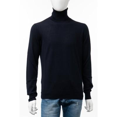 ハイドロゲン セーター ニット タートルネック ハイネック メンズ 270804 ネイビー HYDROGEN