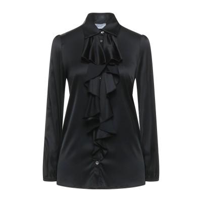 HOPPER シャツ ブラック 40 レーヨン 97% / ポリウレタン 3% シャツ
