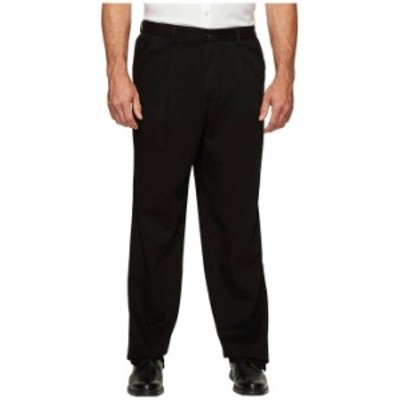 ドッカーズ メンズ カジュアルパンツ ボトムス Big & Tall Easy Khaki Pleated Pants Black