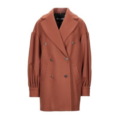 ジャストカヴァリ JUST CAVALLI コート ブラウン 46 ウール 80% / ナイロン 20% コート