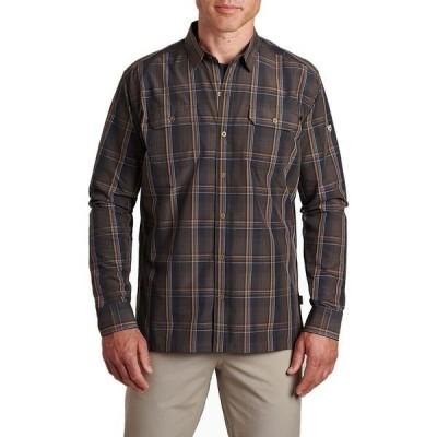 キュール メンズ シャツ トップス Response Long-Sleeve Shirt