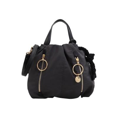 シーバイクロエ SEE BY CHLOÉ ハンドバッグ スチールグレー ポリエステル 100% / 山羊革 ハンドバッグ