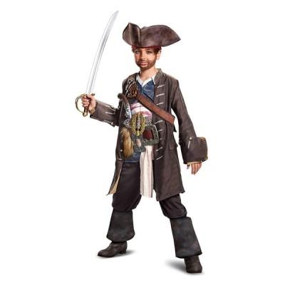 ジャックスパロウ コスプレ 海賊 衣装 キッズ 男の子 人気 プレステージ パイレーツオブカリビアン コスチューム