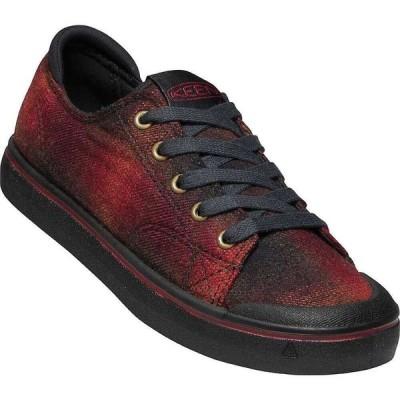 キーン Keen レディース スニーカー シューズ・靴 KEEN Elsa IV Sneaker Red Plaid/Black