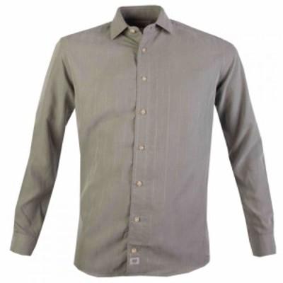 ダブルTWO Double Two メンズ シャツ トップス Checked Soft Touch Shirt Green
