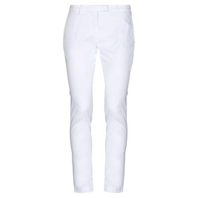 パオローニ PAOLONI パンツ ホワイト 32 コットン 97% / ポリウレタン 3% パンツ