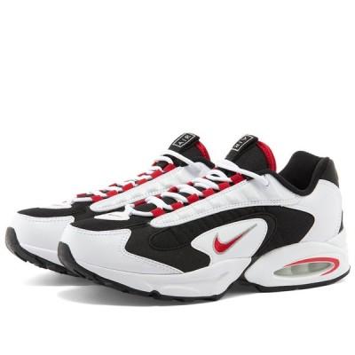 ナイキ Nike レディース スニーカー シューズ・靴 Air Max Triax 96 W White/Red/Silver