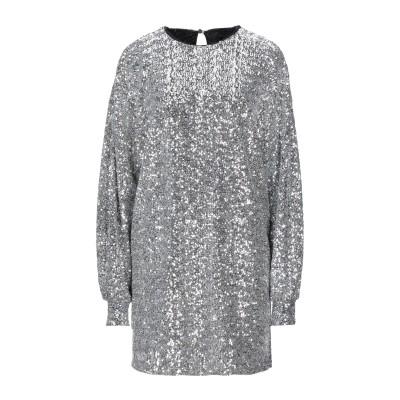 イザベル マラン ISABEL MARANT ミニワンピース&ドレス シルバー 38 ポリエステル 100% / レーヨン ミニワンピース&ドレス