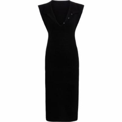 ジャックムス Jacquemus レディース ワンピース ミドル丈 ワンピース・ドレス la robe santon linen midi dress Black