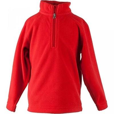 スノーボード&ウエア キッズファッション スポーツ遊具 Obermeyer Kids Unisex Ultragear 100 Micro Zip-T (Little Kids/Big Kids) Lava Sweatshirt XS (1/2