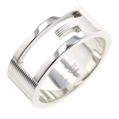 グッチ リング 指輪 ブランデッドG 幅約8mm シルバー925 13号 メンズ GUCCI 中古 K10305330
