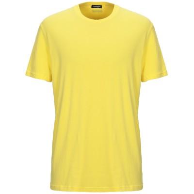 ディースクエアード DSQUARED2 アンダーTシャツ イエロー XS コットン 95% / ポリウレタン 5% アンダーTシャツ